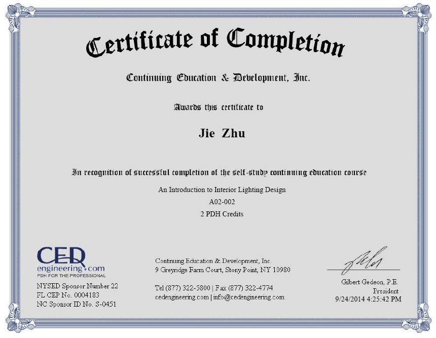 Jay zhu architect engineering construction - Interior decorating certificate online ...